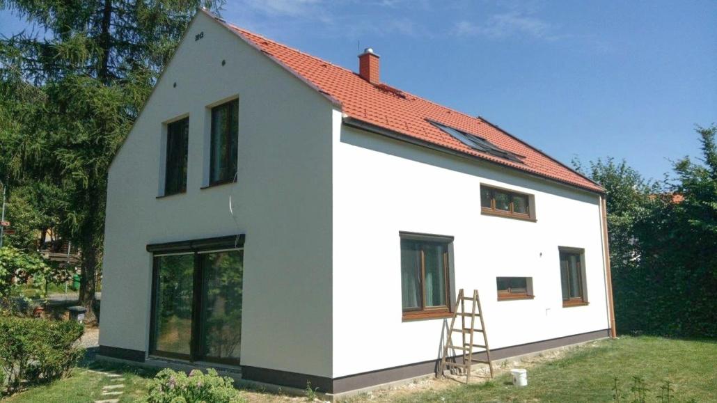 Rodinný dům - stavební společnost, firma