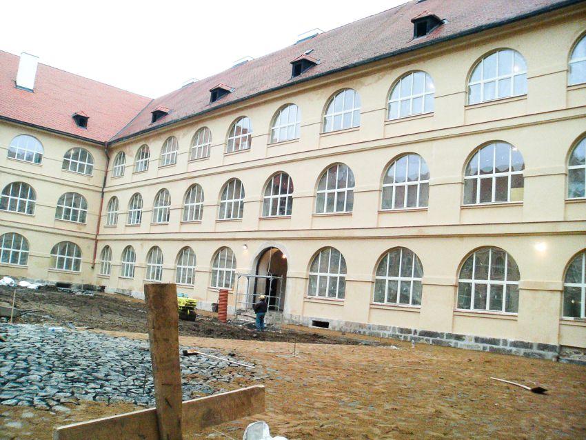 Depozitář Národního muzea, Terezín